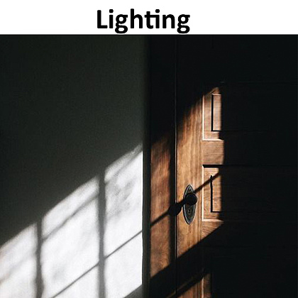 Another example of how we will use the natural light