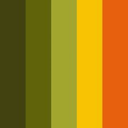 Obviously we are going to have a lot of fun with the colours in our music video, we are going to have retro colours to define the time era that the video is set in. We want lots of brown, orange, green, and mustard yellow pretty much everything we love about the 70's!
