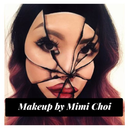 Avante Garde and optical allusion makeup stylings from Mimi Choi who's  been featured in magazines around the world.