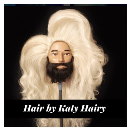 Custom styled wigs and hair pieces by Vancouver stylist Katy Hairy.