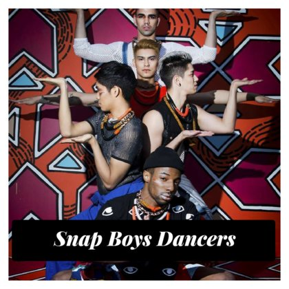 """Snap Boys is an all male dance company formed by Raymond Jordan Johnson-Brown and Jojo Zolina. SNAP Boys aim to redefine what is considered """"feminine"""" and """"masculine"""" in todays society and enable every individual to express themselves fully without fear of judgement. SNAP boys seek to offer the LGBT community a new entertainment experience that adds to the existing work of the community."""