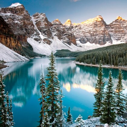 We want to go check out the Rocky Mountains once the snow falls, and see what that's all about!