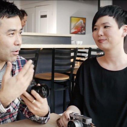 Interview local female film photographer