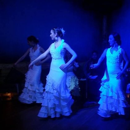 Karen Flamenco, the company  we will featuring in Yasmina, performing at East is East.
