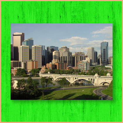 Calgary will be accurately depicted as a bright city, full of colour.
