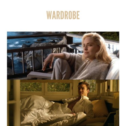 Wardrobe choices will also play an important role in our storytelling, signaling important character elements and themes. Pasquale's wardrobe will mimic the colour and tone of his environment. He will effectively blend into the background, signifying his slow disappearance at the hand of Alzheimer's, as well as the loss of his own identity.