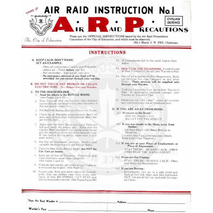 """To be prepared means to know what to do during a nuclear event. The Air Raid Precautions booklet gives detailed instructions in the event of a catastrophic Air Raid event (apparently written before the age of ICBM because it still uses pictures of airplanes). Number 7 """"Take the dog to the refuge room, but not the cat, cats go insane"""". How was this step tested? If it wasn't how do we know? Is it assumed? If so, what else was assumed?"""