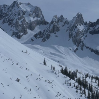 High Alpine mountains filmed from the air and the ground