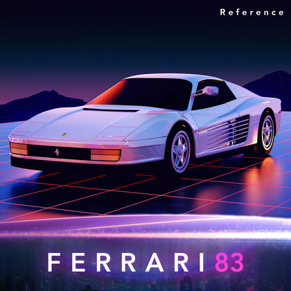 We will create a 3D NewRetroWave inspired vehicle model based off the 1983 Ferrari Testarossa.  Photo credit: derpnukes101  Note: this is a reference image only.