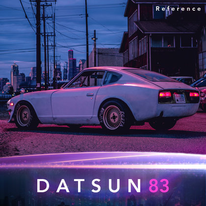 We will create a 3D NewRetroWave inspired vehicle model based off the 1983 Datsun 280ZX.  Photo credit: TheZDriver  Note: this is a reference image only.