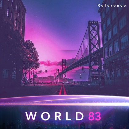 We will use aesthetic cues from RetroWave to help colour our world. This reference will be used to colour the world soon before the day of the last sunrise.   Note: this is a reference image only.