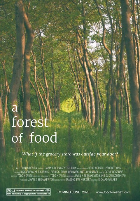 a forest of food