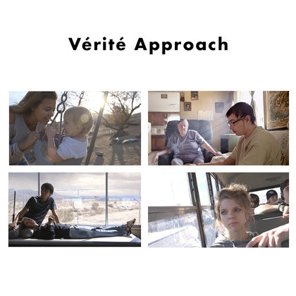 Most of the story will be revealed through vérité scenes, observing our subjects circumstances and challenges with an emotional and personal focus.