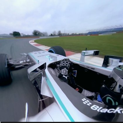 Stabilized gimbal technology combined with tiny sports cameras will put viewers right in the action and point of view of 16 year old racer.