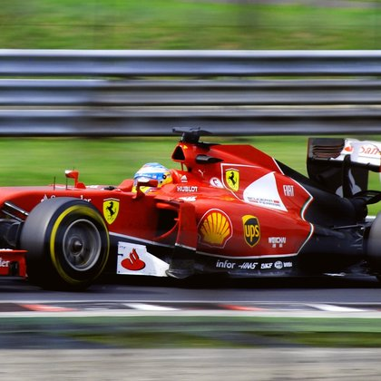 High speed race footage with long telephoto lenses will capture the excitement and danger of formula racing.