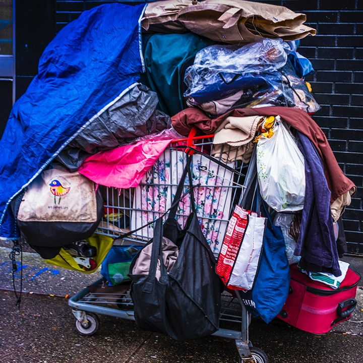 More than 2,100 people in Vancouver are homeless. Some are homeless because of addiction or mental illness. Others are homeless because of poverty and sky-high Vancouver rents. A common sight in the Downtown Eastside is people pushing their worldly possessions in shopping carts.  Breaking the cycle of addiction is difficult, especially for those struggling with trauma and mental health problems and homelessness exacerbates this cycle, making it much challenging for medical professionals like Evanna Brennan and Susan Giles to give patients the help they need.